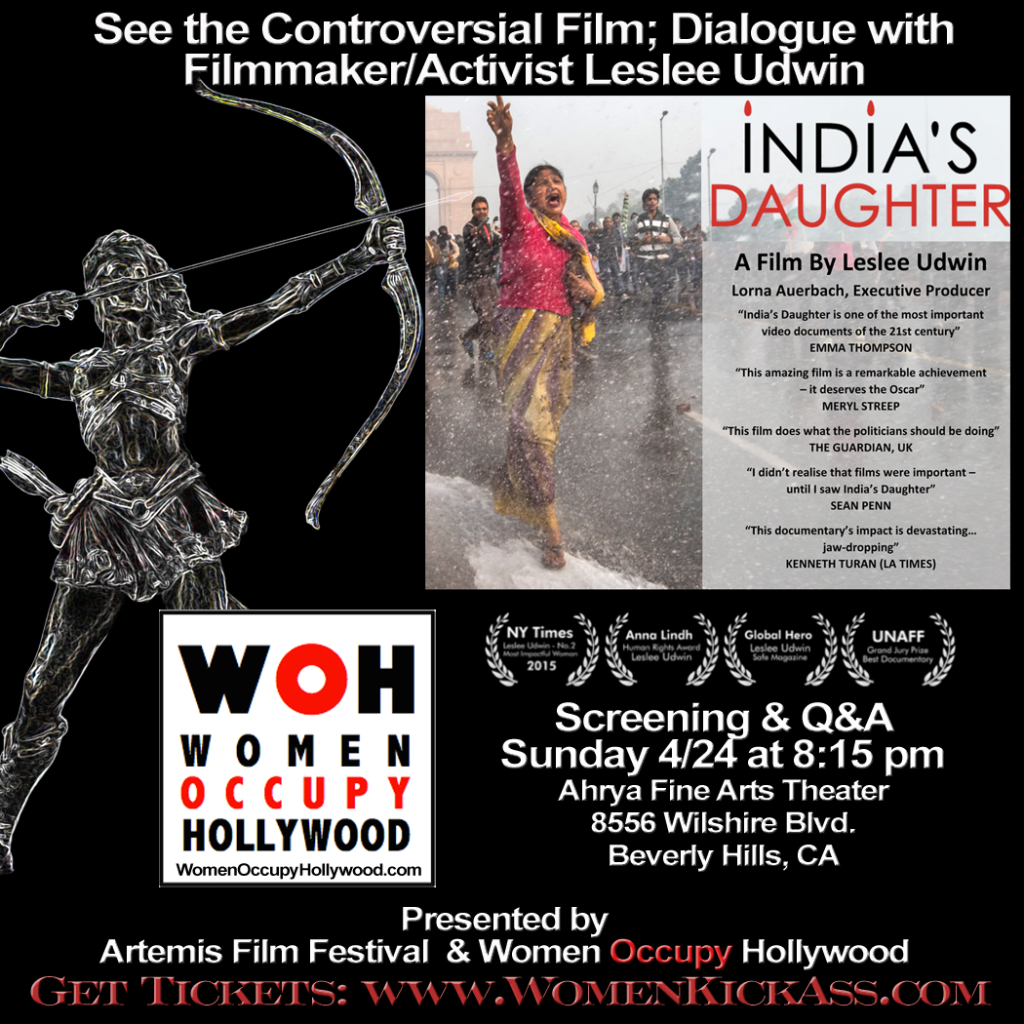 indias daughter screening pres by aff woh